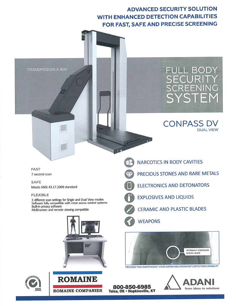X-ray Systems - Commercial and Industrial Cleaning Products